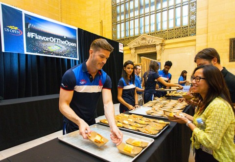 US Open Grand Central Terminal Tennis News
