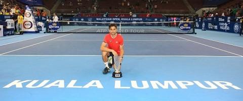 David Ferrer Malaysian Open Trophy Tennis News