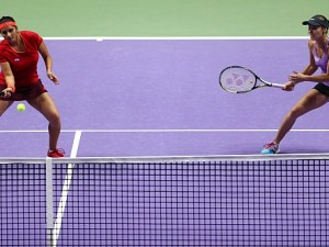 Hingis/Mirza Secure WTA Year-End No.1 Doubles Ranking