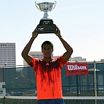 Mmoh rolls to Texas Tamale Company Houston Cup singles title