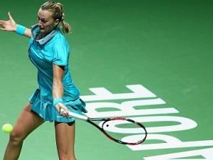 Kvitova to Play Radwanska For WTA Finals Singapore Championship
