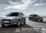 Peugeot becomes the official vehicle of Valencia Open