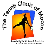 Rain Stops, Sun Arrives at Tennis Classic of Macon