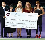WTA Aces for Humanity Program Contributes $25,000 To USANA True Health Foundation