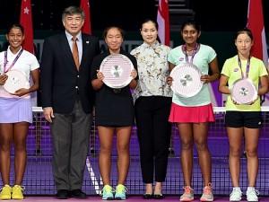 WTA Future Stars Champions Crowned