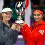 Martina Hingis Sania Mirza Tennis News