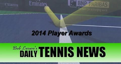 Daily Tennis News Player Awards