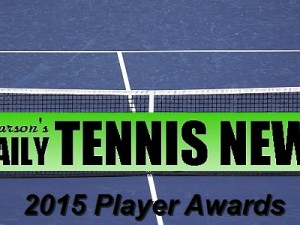 Daily Tennis News 2015 Player Awards