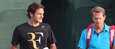 Roger Federer Stefan Edberg Tennis News
