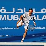 Stars thrill on day one of the Mubadala World Tennis Championship