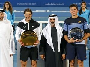 Rafael Nadal Wins His Third Mubadala World Tennis Championship