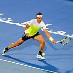 Nadal shines in three set thriller to set up final against Abu Dhabi debutant Raonic