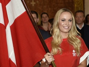 Wozniacki Named As Denmark's Olympic Flag Bearer