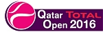 Qatar Total Open Tuesday Tennis Results