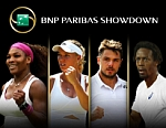 BNP Paribas Showdown Tennis News