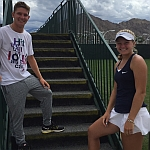 Gianni Ross, Alexandra Sanford Win Prestigious ITF Singles Titles On the Final Day of the ASICS Easter Bowl