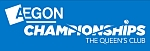 Aegon Championships Sunday Tennis Results