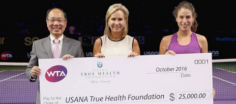 WTA Aces For Humanity Tennis News