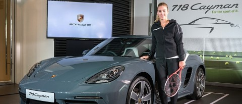 Angelique Kerber Porsche Tennis News