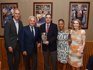 Stenning Honored By The ITF And The Hall of Fame