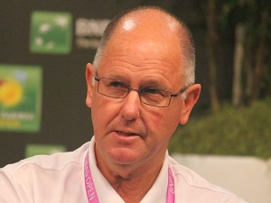 Simon Is In Singapore Representing The WTA