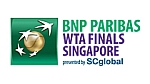 BNP Paribas WTA Finals Sunday Tennis Results