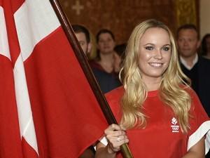 Wozniacki Named As Denmark's Olympic Flag Bearer