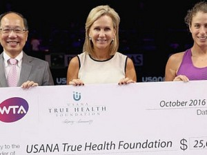 WTA Raises $25,000 During Aces for Humanity